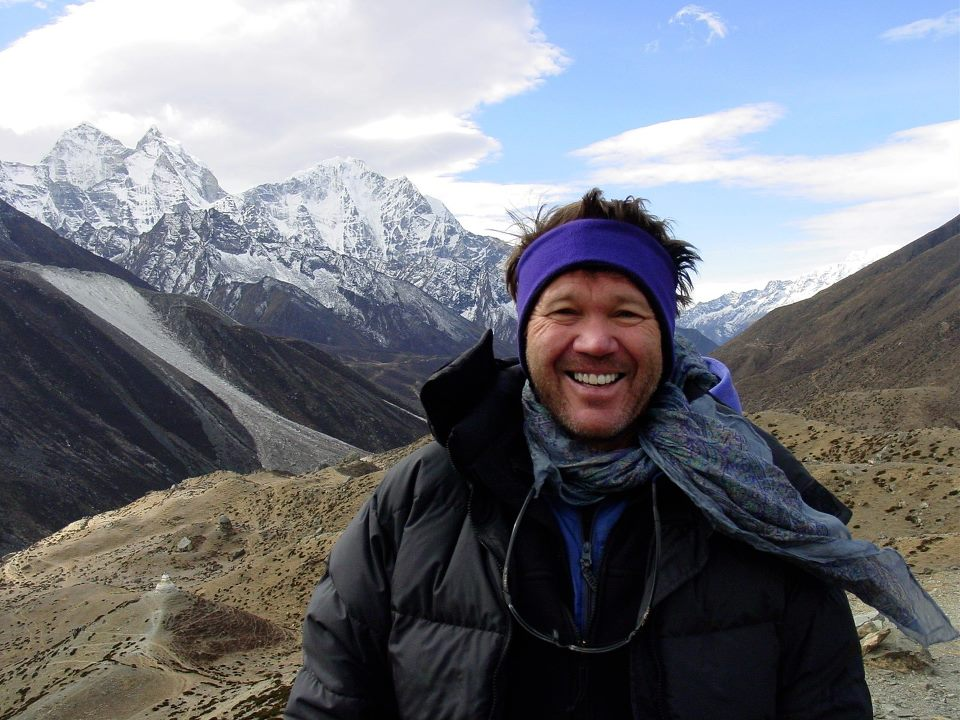 Chris Walker in Nepal